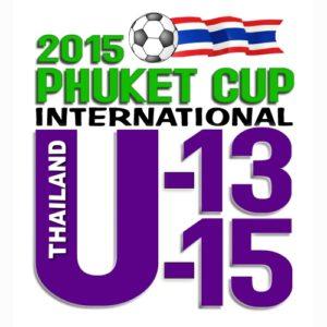 2015 Phuket Football Cup U13-U15 logo