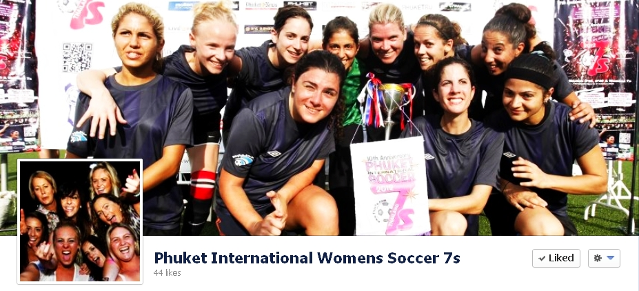 Phuket International Women Soccer 7s Facebook Page