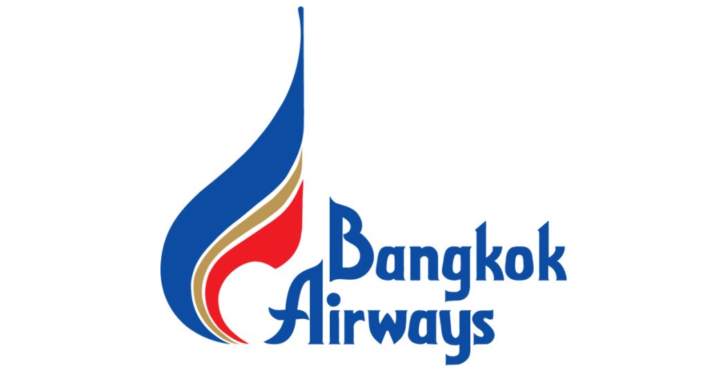"""Bangkok Airways, """"Official Tournament Airlines""""."""
