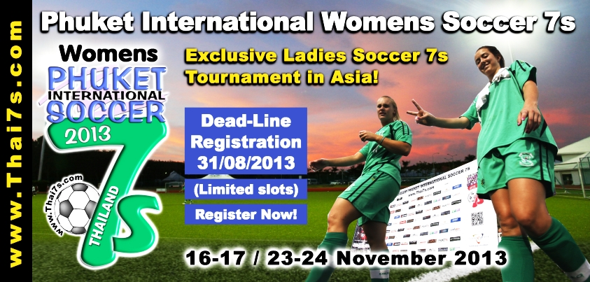 2013 Phuket International Womens Soccer 7s