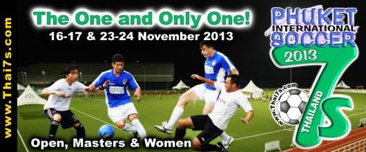 Banner 2013 Phuket Soccer 7s